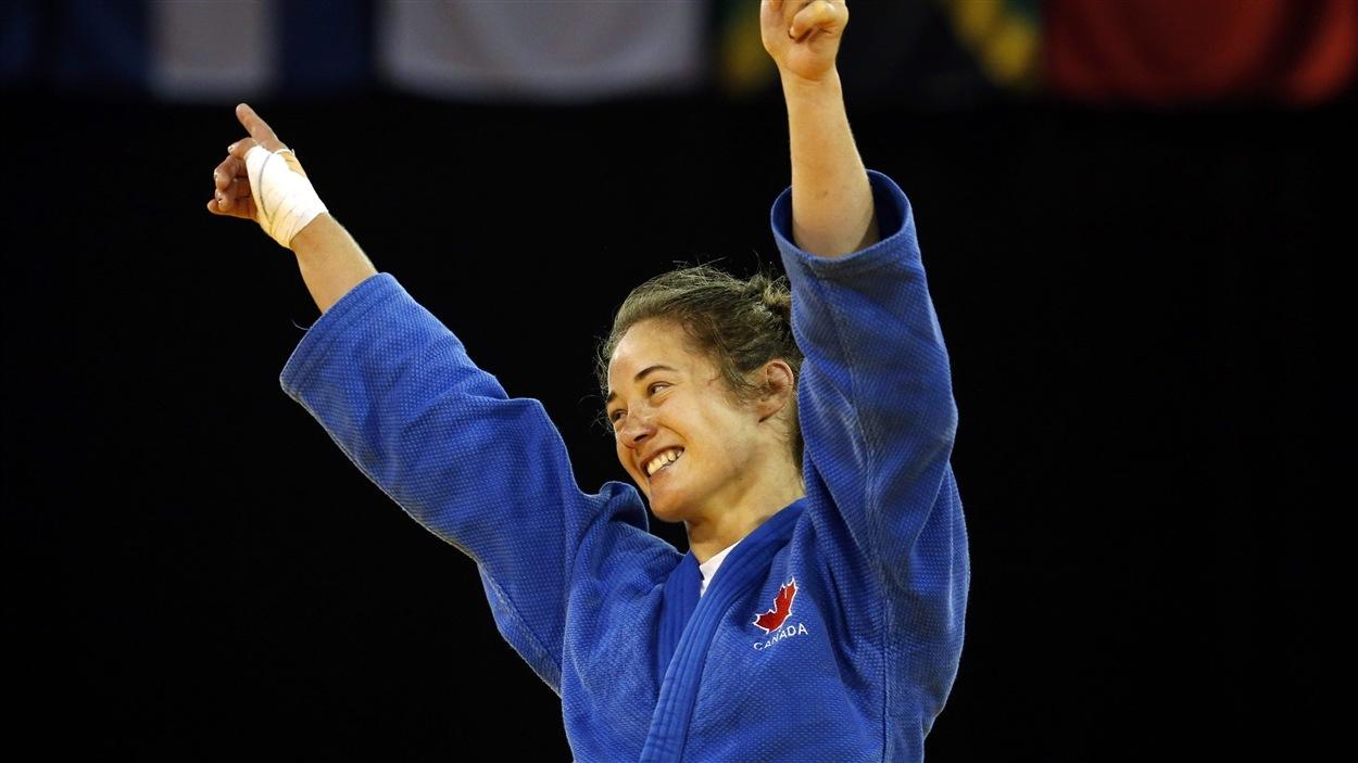 La judoka québécoise Stéfanie Tremblay.