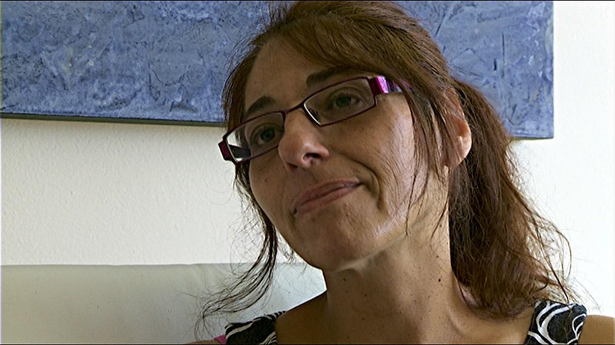 Lyne Giard, représentante syndicale