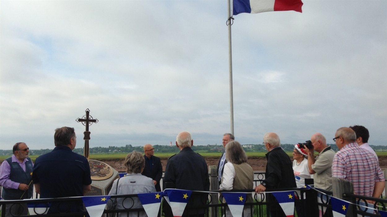Cérémonie commémorative du Grand Dérangement.