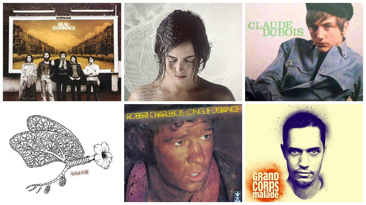 Quelques-uns des artistes qui évoquent le plus Montréal aux auditeurs et internautes.