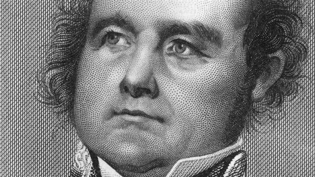 Sir John Franklin a mené une expédition dans l'Arctique canadien en 1845.