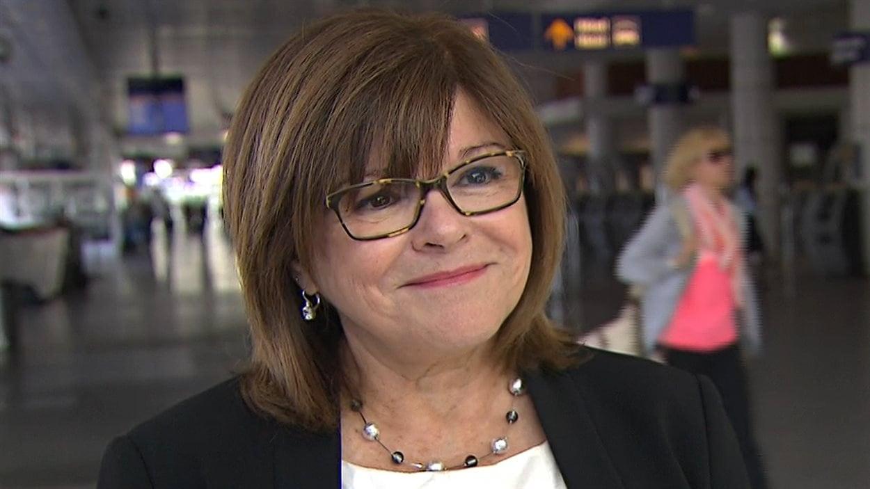 Christiane Beaulieu, vice-présidente aux affaires publiques d'Aéroports de Montréal (ADM)