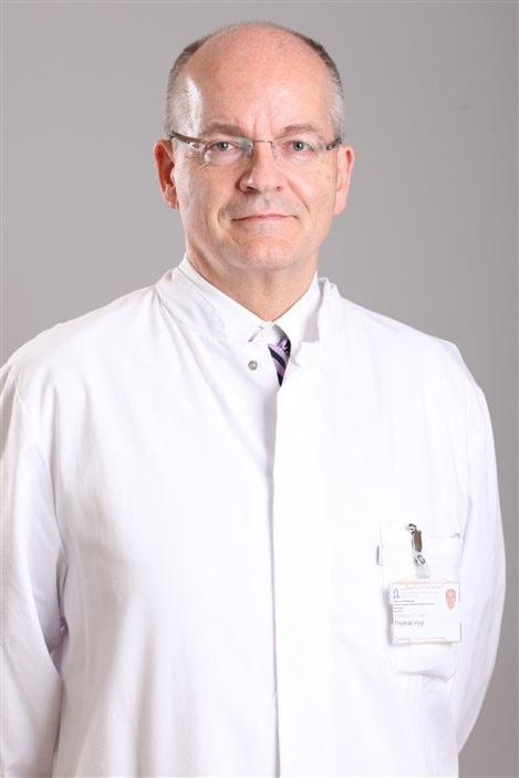 Le docteur Thomas Vogl, radiologue à l'hopital universitaire de Francfort.