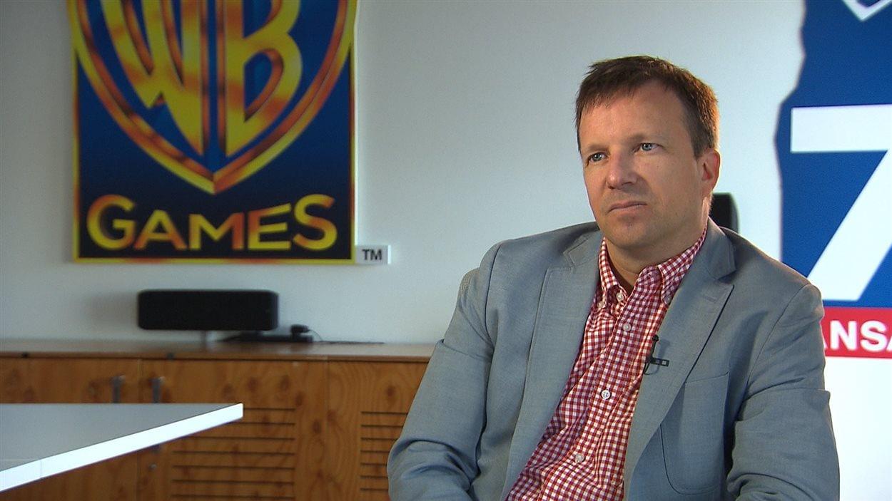 Martin Carrier, chef des studios de WB Games à Montréal