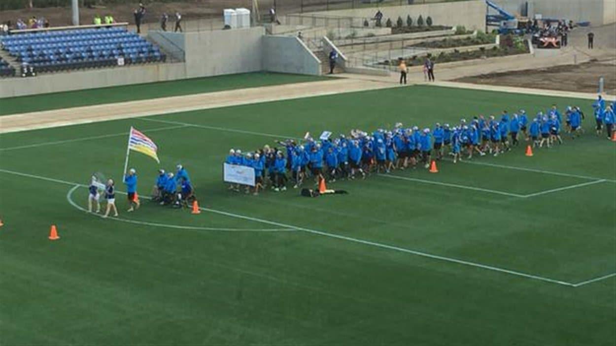L'équipe de l'Alberta aux Jeux d'été de l'Ouest