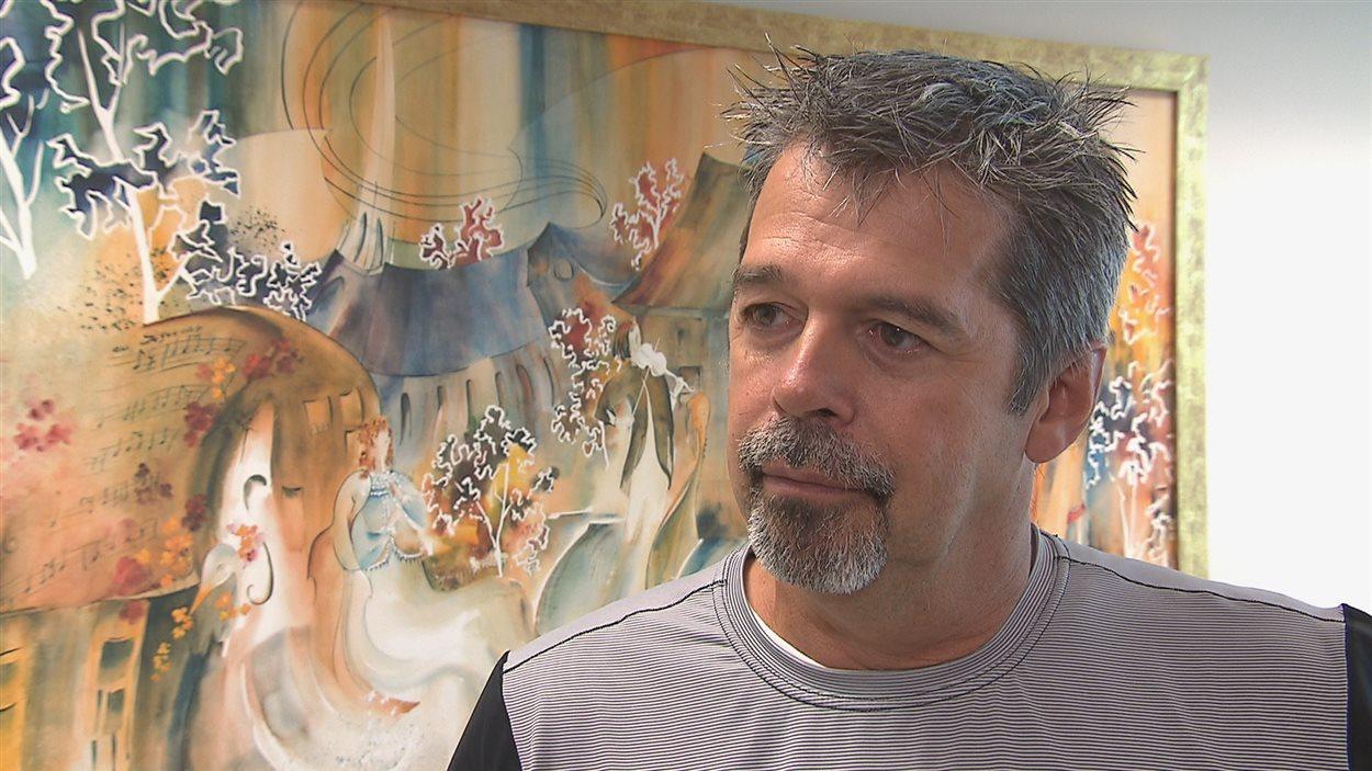 Le conseiller municipal de Saguenay, Jacques Fortin
