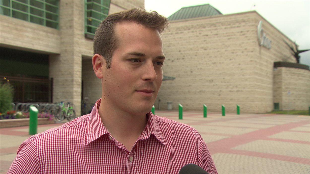 Mathieu Fleury, conseiller municipal, Ville d'Ottawa