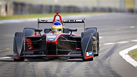 Jacques Villeneuve à Donington