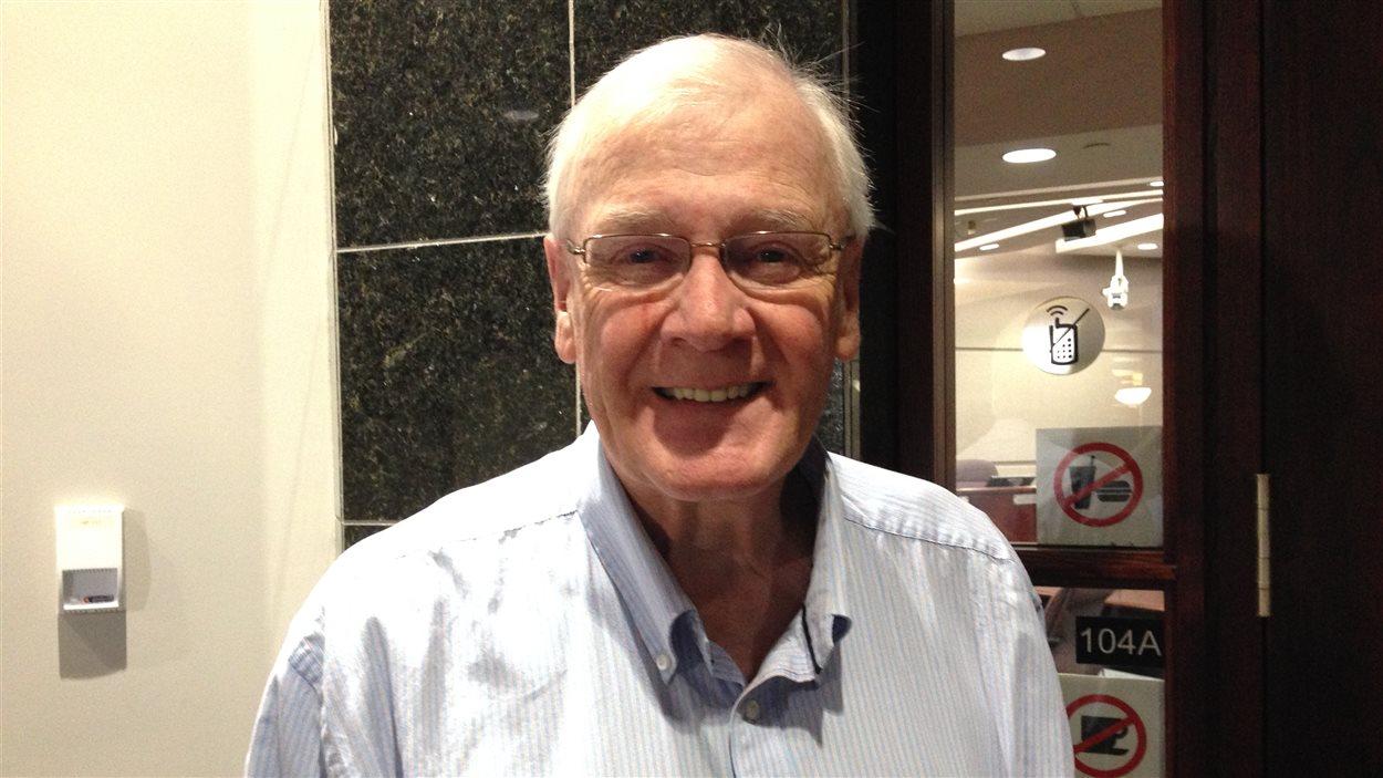Le conseiller de la Ville de Moncton, Brian Hicks.