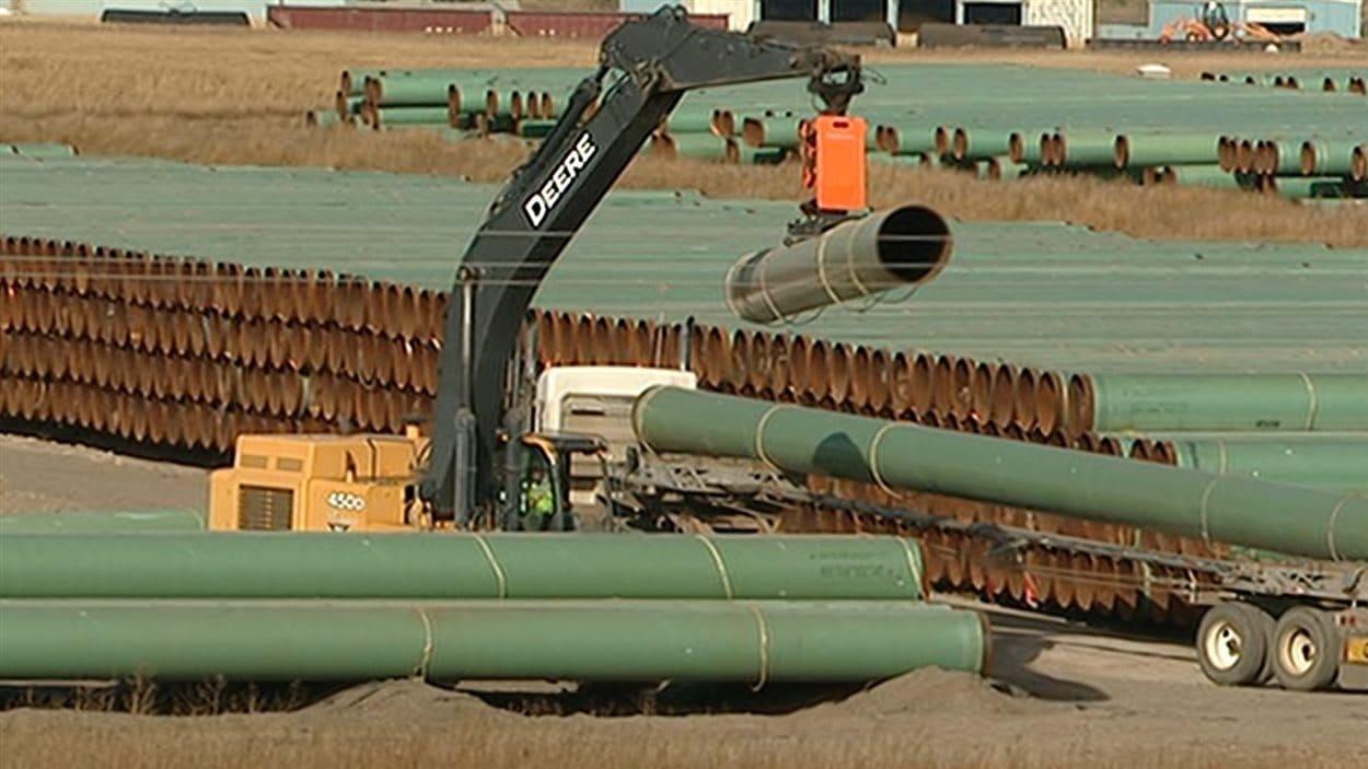 Le tracé préliminaire du pipeline Énergie Est suscite les inquiétudes d'Hydro-Québec.