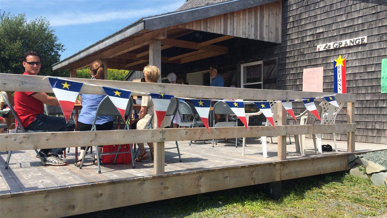 Les festivités battent leur plein aussi à Chezzetcook, en Nouvelle-Écosse.