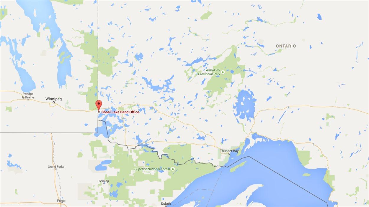 La Première Nation de Shoal Lake dans le nord-ouest ontarien