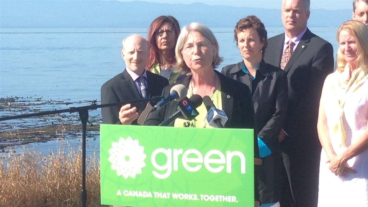 Lynn Quarmby, candidate verte à Burnaby-Nord-Seymour, réclame une refonte du processus d'évaluation environnementale des projets d'énergie