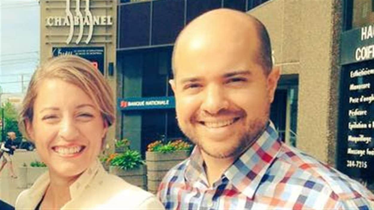 Mélanie Joly et Anthony Di Carlo