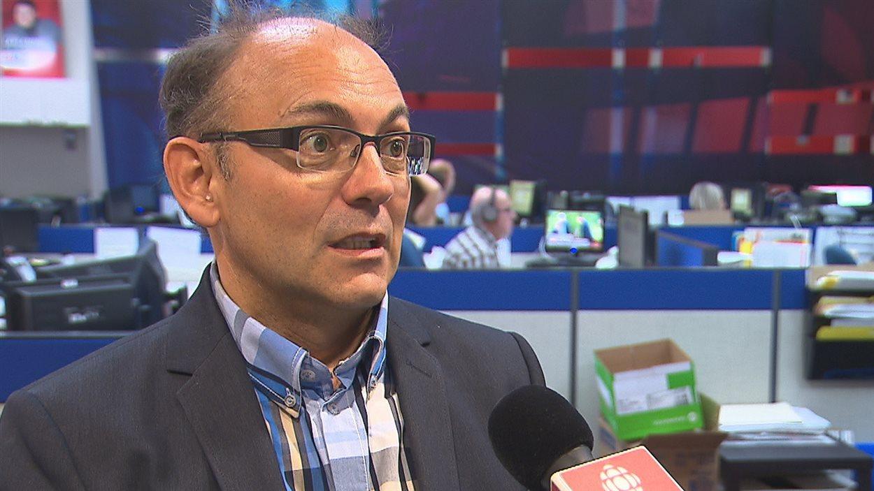 Yvon Boivin, candidat libéral