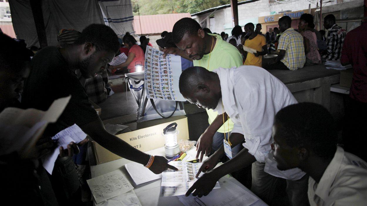 Premier tour des élections législatives en Haiti, 9 août 2015