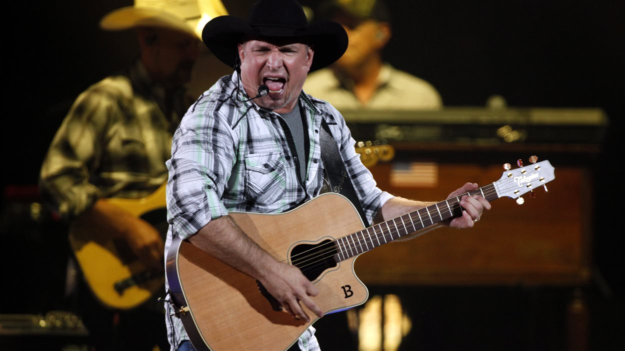 Le chanteur country Garth Brooks.