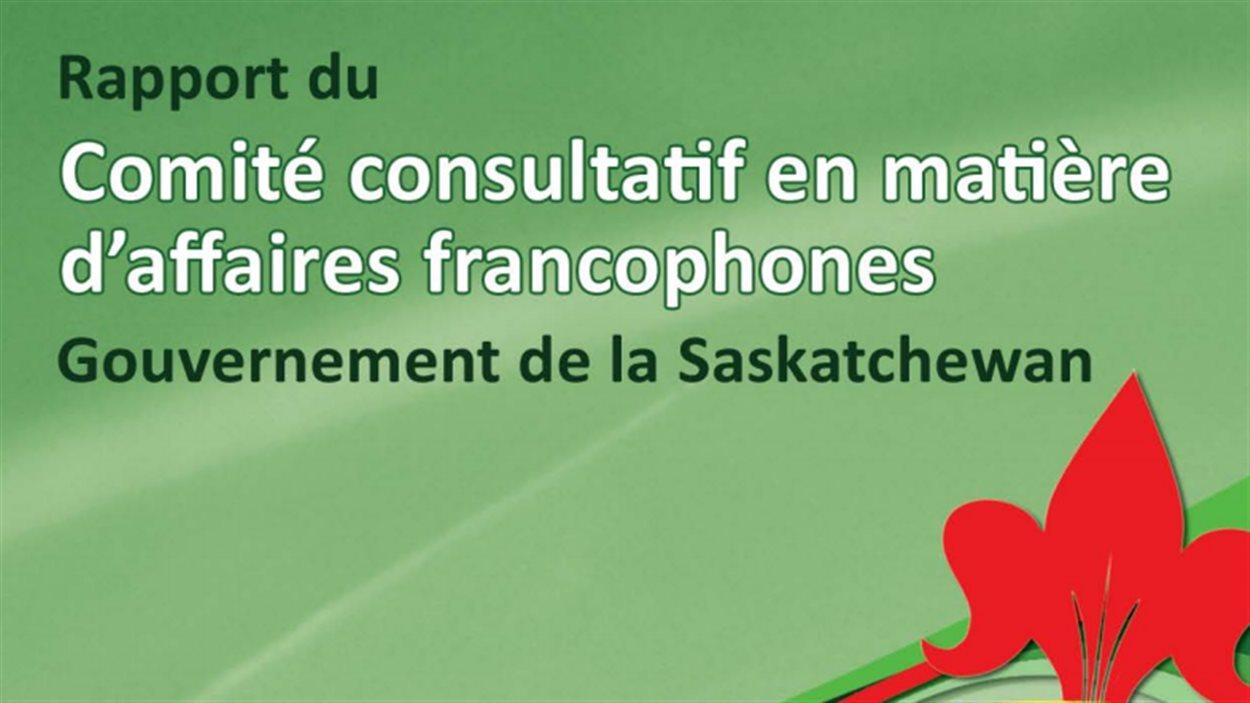 Le Comité consultatif en matière d'affaires francophones de la Saskatchewan a déposé son dixième rapport.