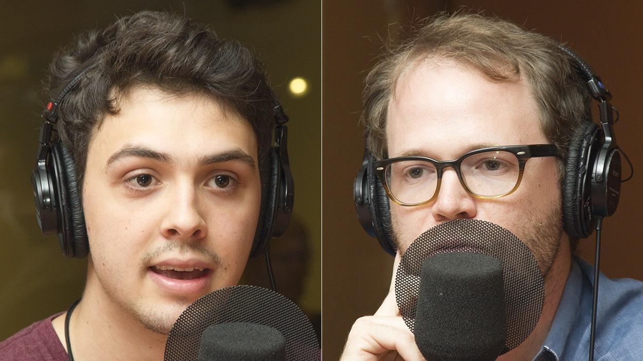 Thomas Gauthier et Fabien Fauteux