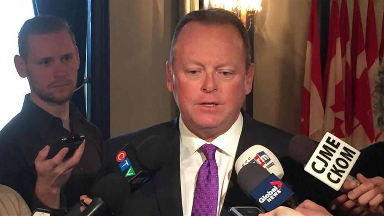 Kevin Doherty, ministre des Finances de la Saskatchewan