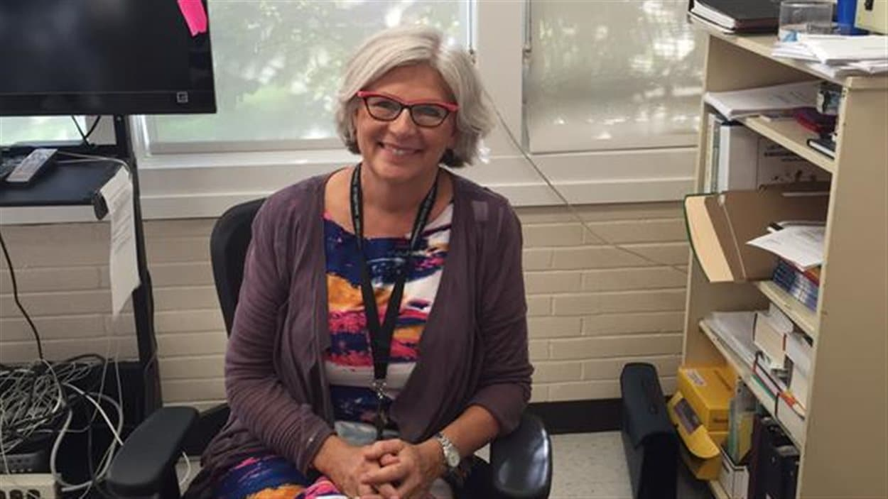 Julie Lemire, directrice de l'École Père Mercure de North Battleford