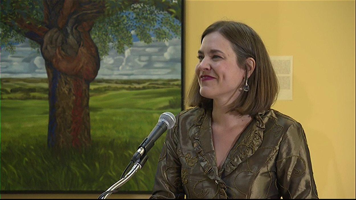 Sophie Bouffard inaugure la Cité universitaire francophone le 1er septembre à Regina.