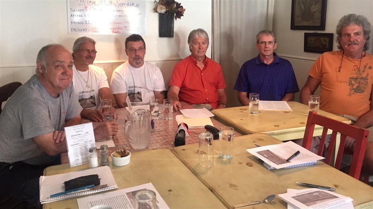 Une pétition pour la sécurité ferroviaire a été lancée à Lac-Mégantic.