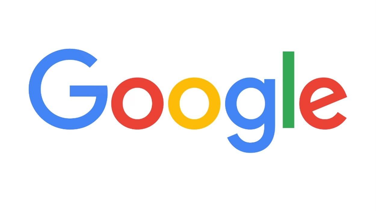Nouveau logo de Google