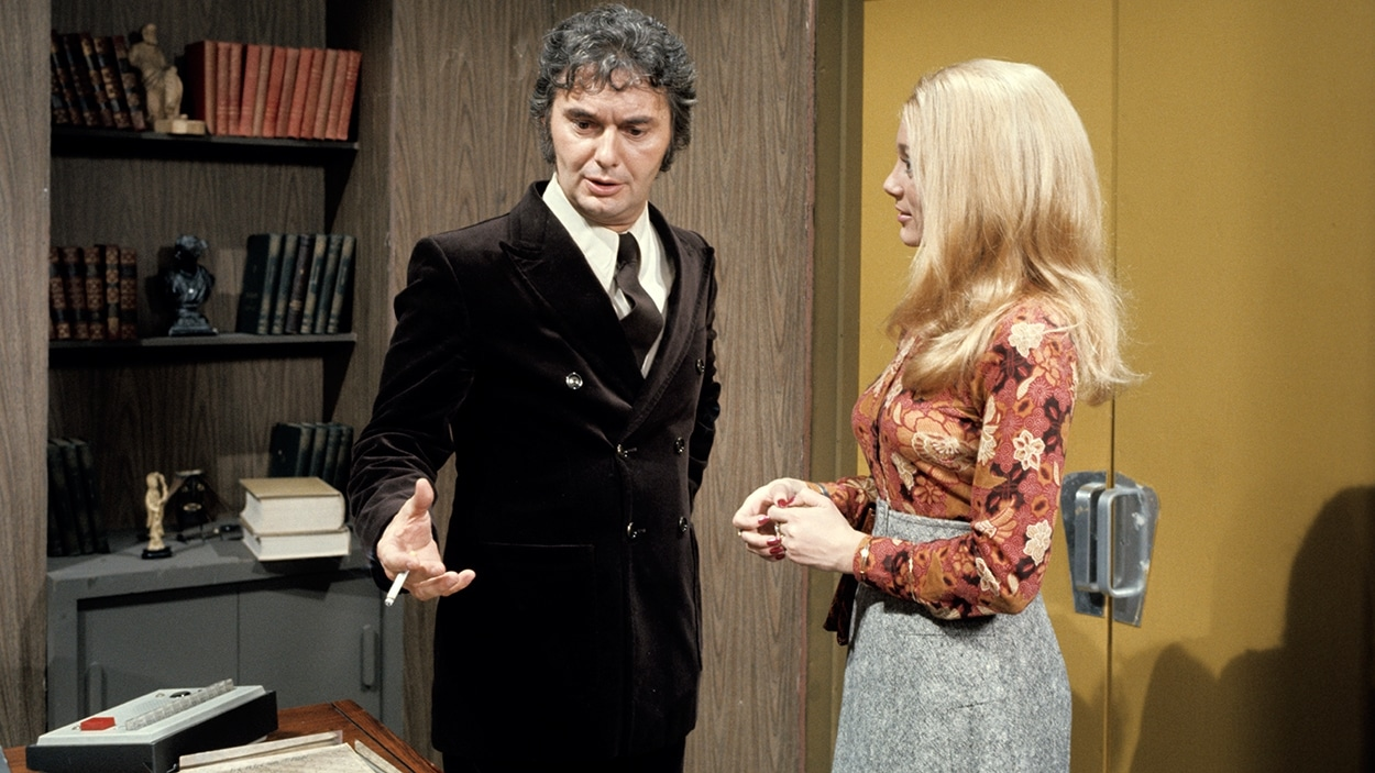 Guy Godin dans « Rue des Pignons » en 1972