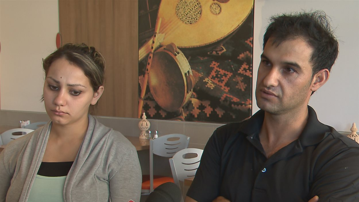 Dalia et Fadi Al Ratl, deux Canadiens d'origine syrienne