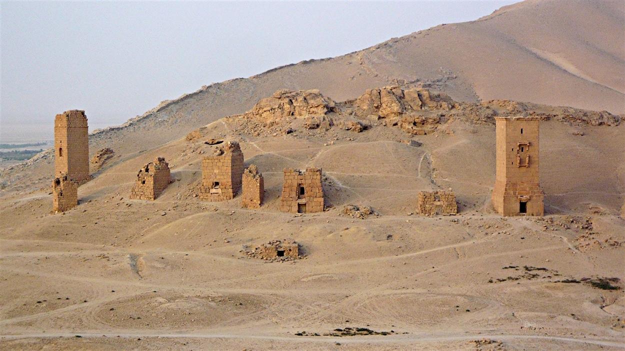 Des tours funéraires à Palmyre