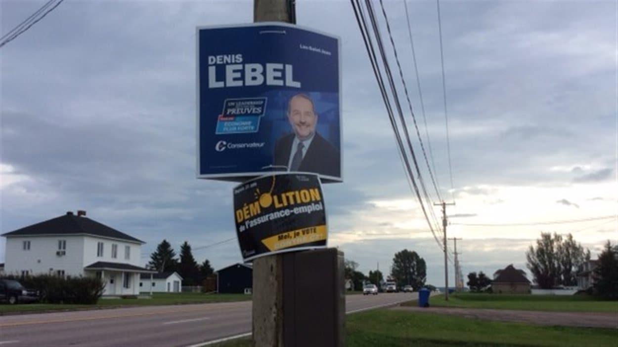 pancartes électorales
