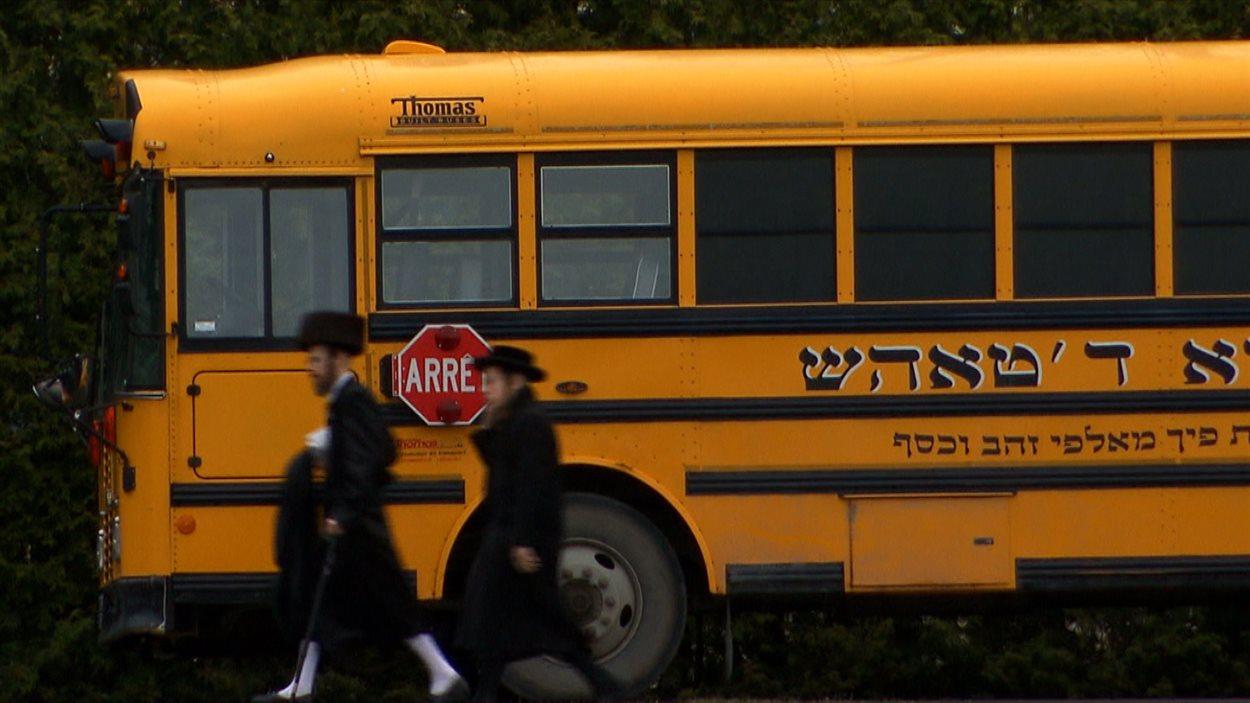 Autobus d'un école juive orthodoxe
