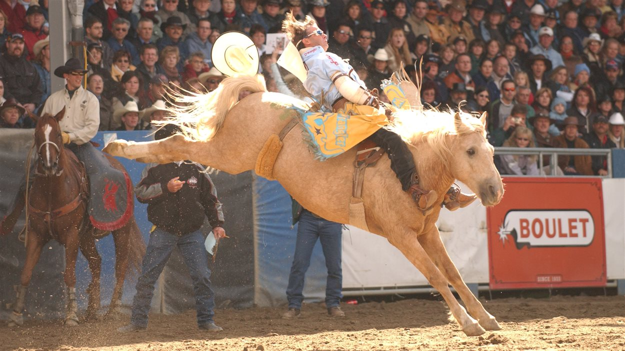Le cowboy Roger Lacasse