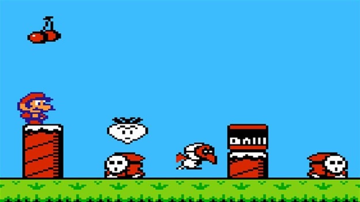 Le jeu vidéo Super Mario Bros.