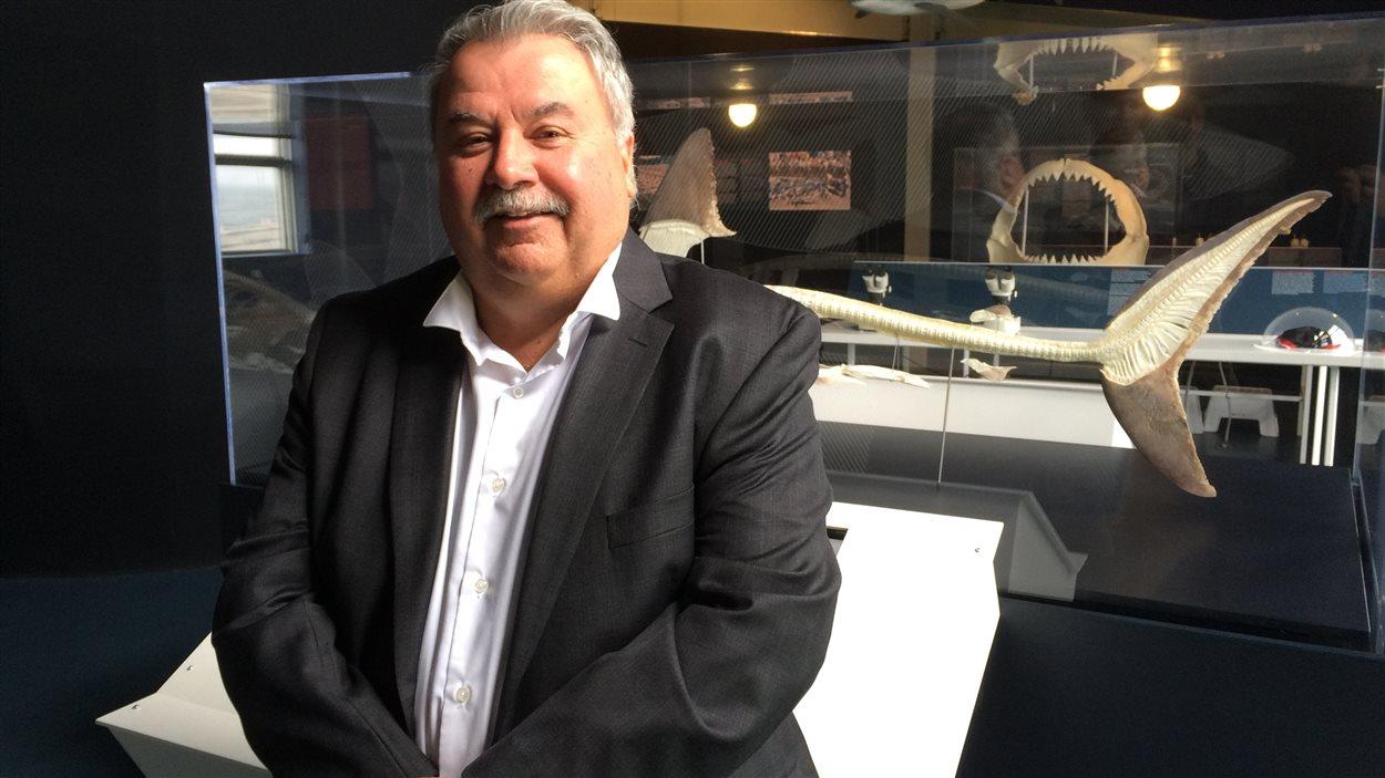 Le président du conseil d'administration d'Exploramer, Gilles Thériault