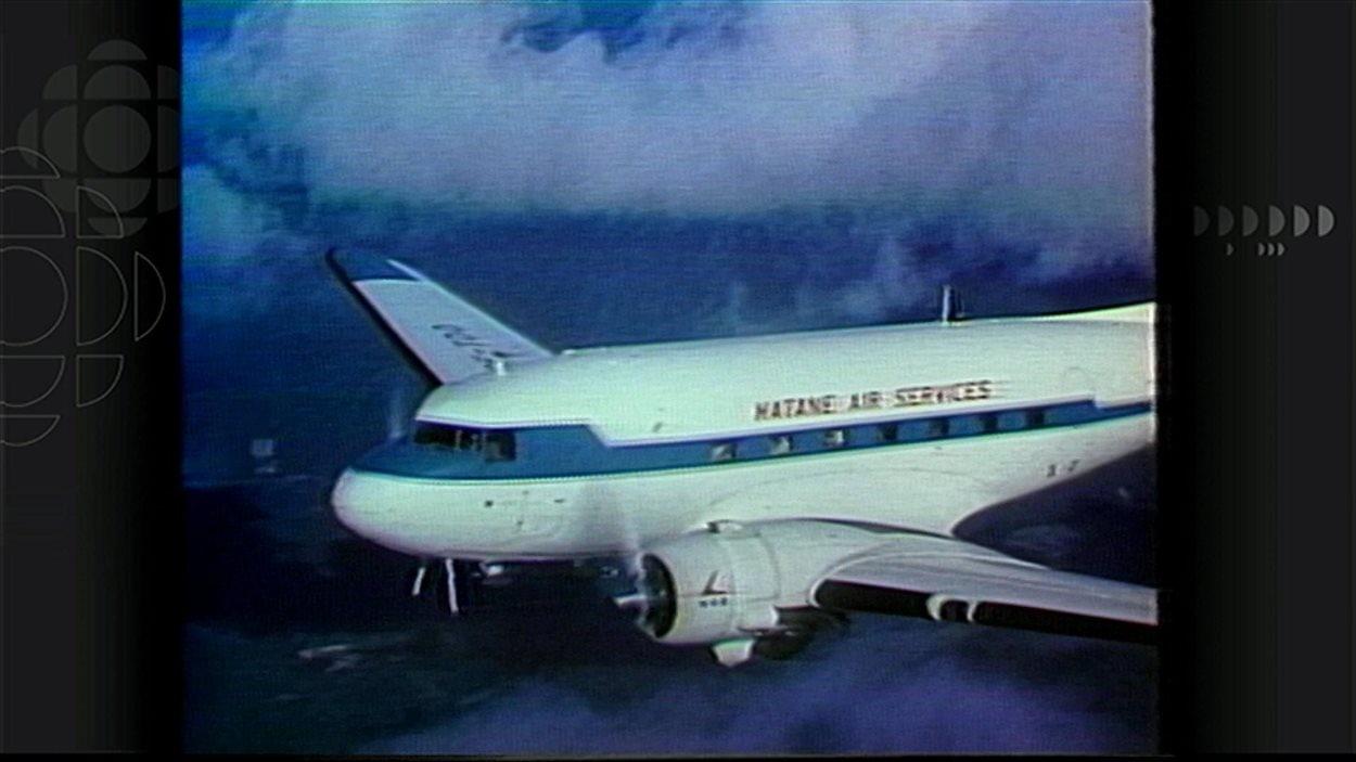 Un appareil de Matane Air Service