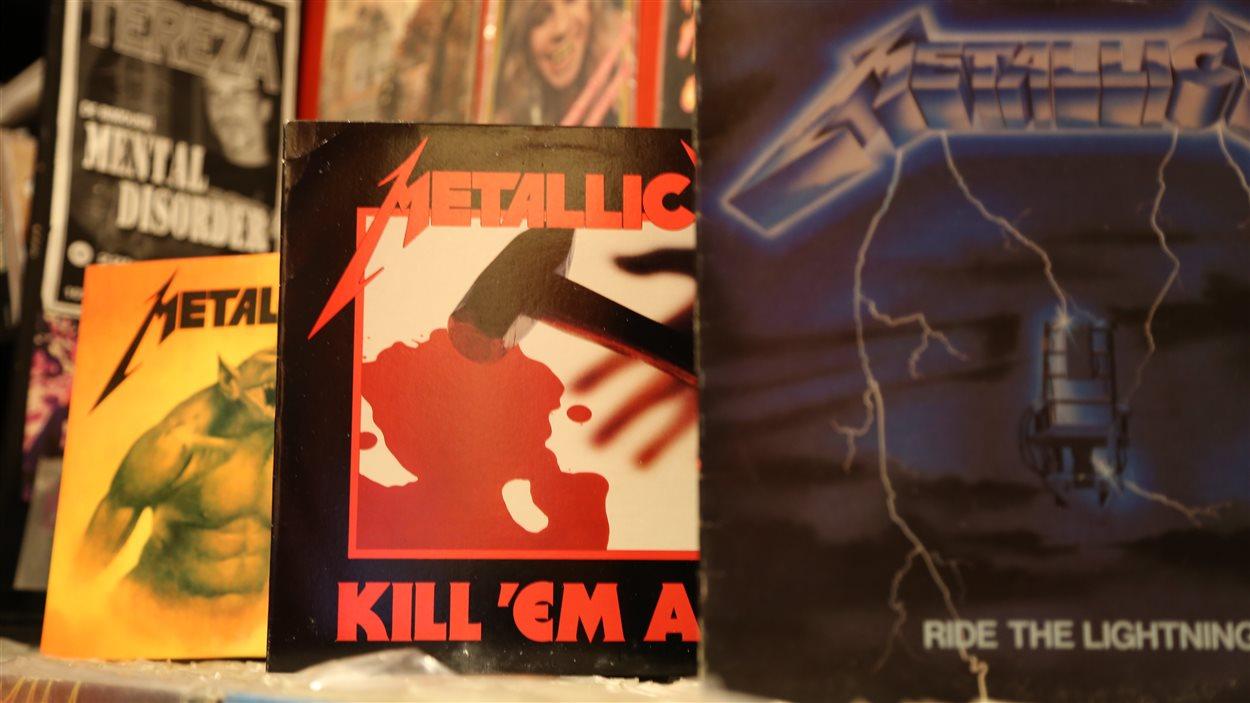 Ride The Lightning (1985), Kill 'em All (1983) et Jump The Fire (1984).