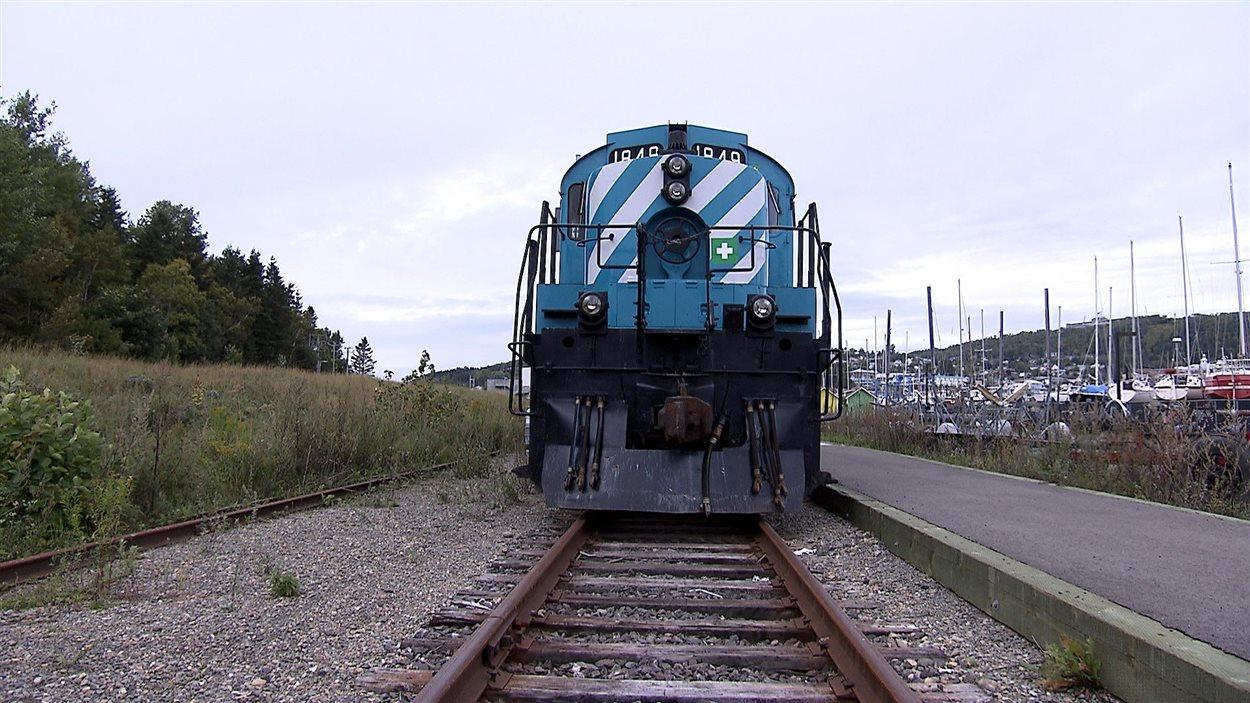 Le rail gaspésien entre Gaspé et Percé est en piètre état