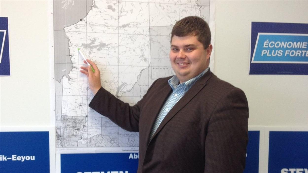 Steven Hébert, candidat conservateur dans Abitibi-Baie-James-Nunavik-Eeyou
