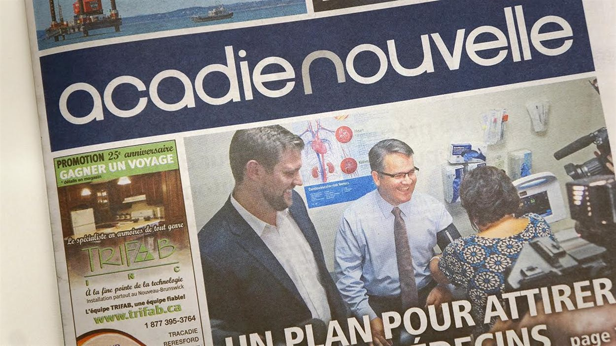 Journal l'Acadie Nouvelle
