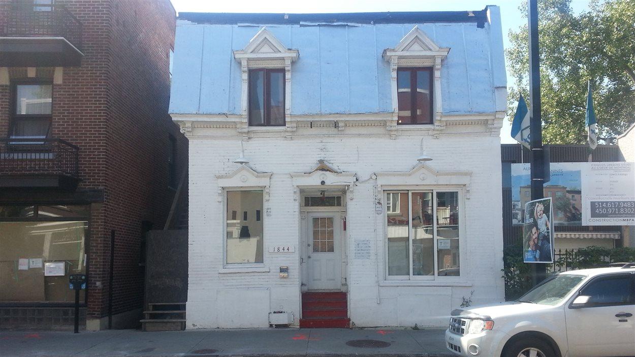 Le bâtiment de la rue Amherst à Montréal que des membre du groupe Arcade Fire veulent transformer en restaurant.