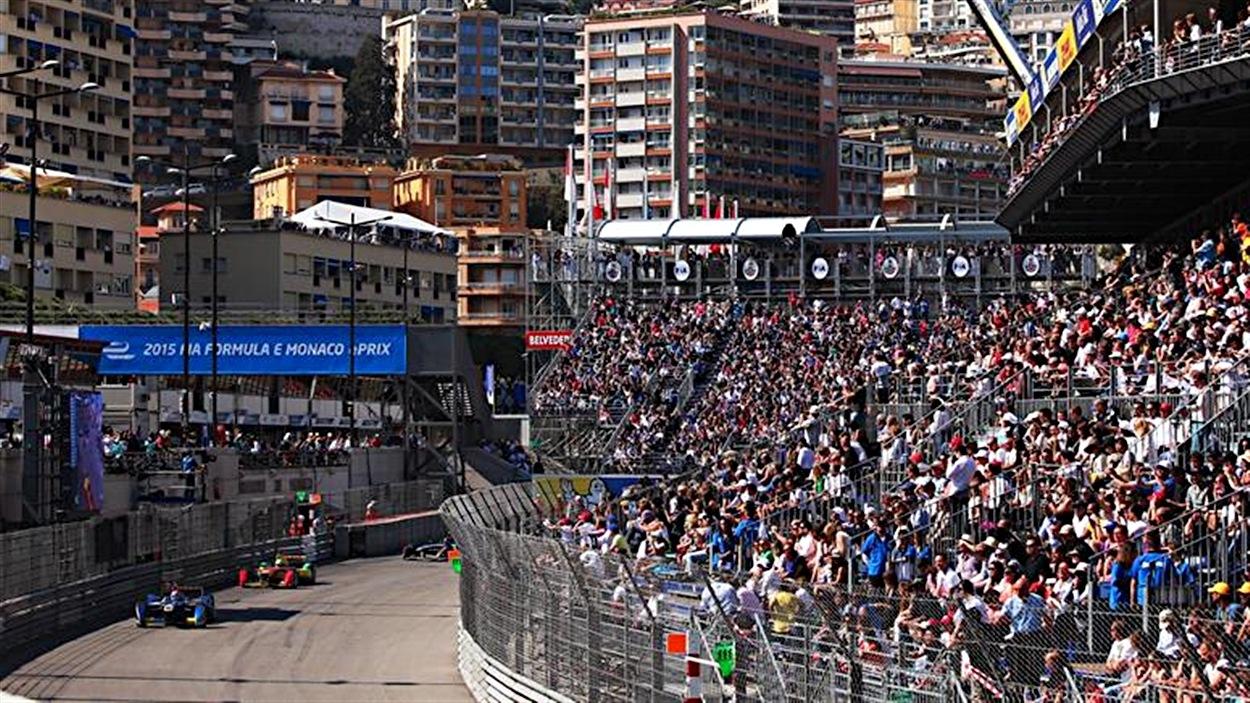 La formule E à Monaco