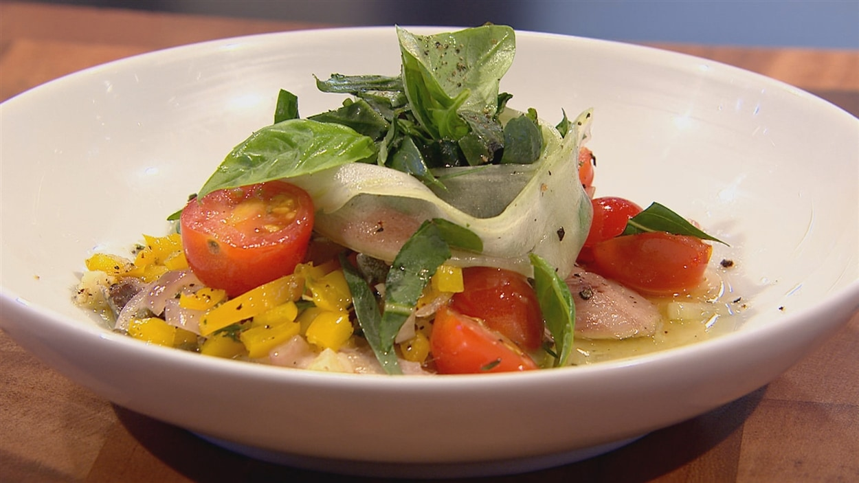 Sardines, vinaigrette tiède