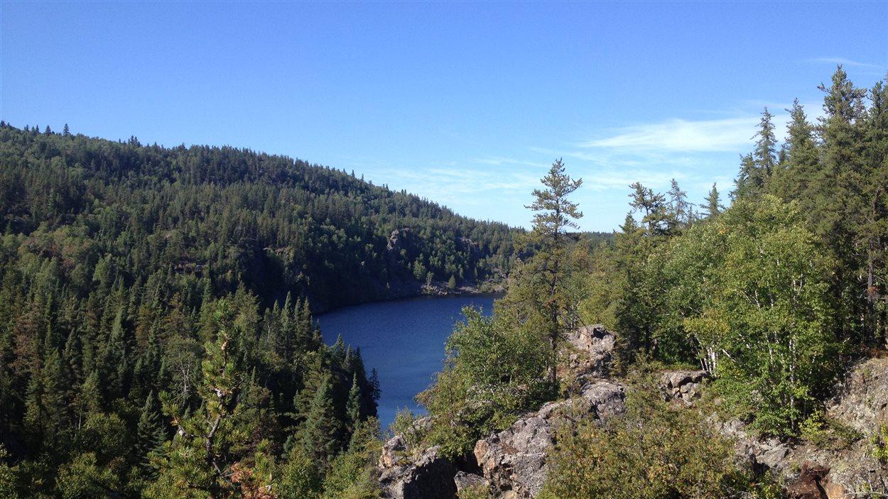 Le lac La Haie au parc national d'Aiguebelle