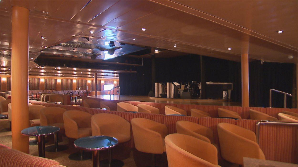 Le théâtre à bord du MS Marco Polo