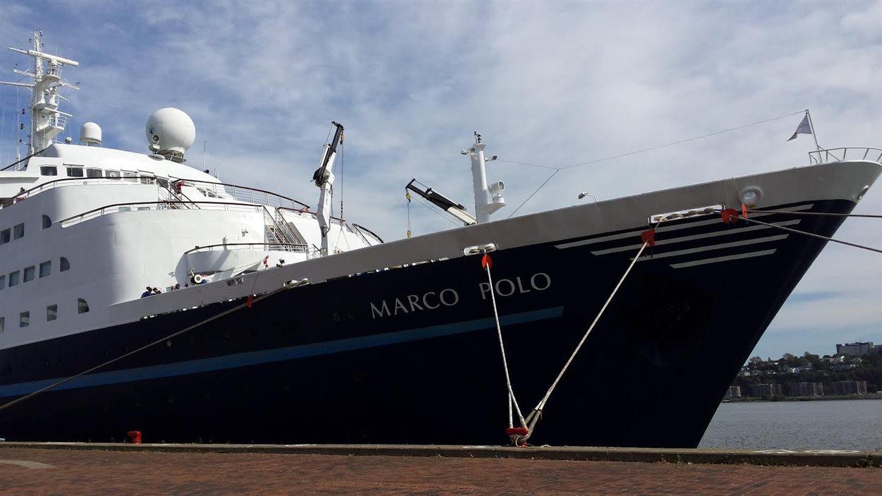 Le navire de croisière Marco Polo