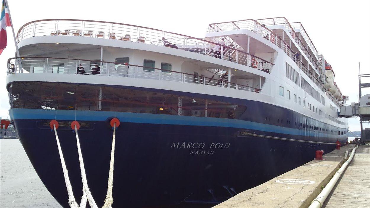 La poupe du Marco Polo