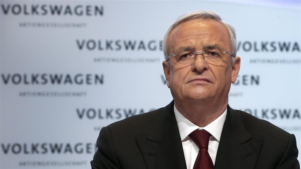 Le président du directoire de Volkswagen, Martin Winterkorn (archives)