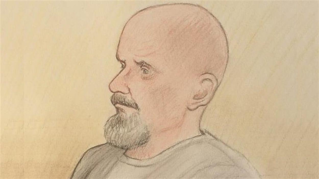 Selon des documents déposés en cour, Basil Borutski a déjà été accusé en lien avec des actes de violence conjugale envers deux des trois victimes